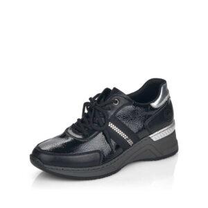 Sneakersy Rieker od boku